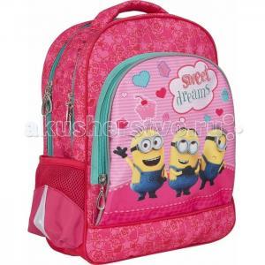 Рюкзак с усиленной спинкой,мягкий Миньоны 31901 Universal