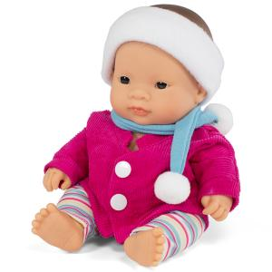Кукла-девочка азиатка, 21 см с комплектом одежды/ Куклы/ Пупс Miniland