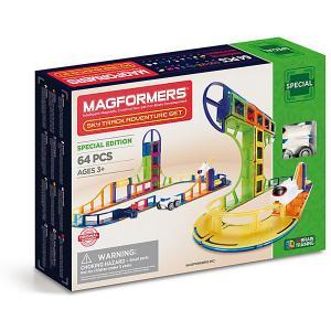 Магнитный конструктор Magformers 799012 Sky Track Adventure set. Цвет: разноцветный