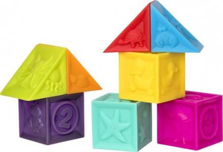 Набор игрушек для ванны Кубики Курносики