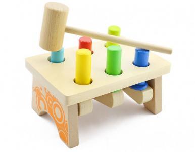 Деревянная игрушка  Гвозди - перевертыши 2 Мир деревянных игрушек
