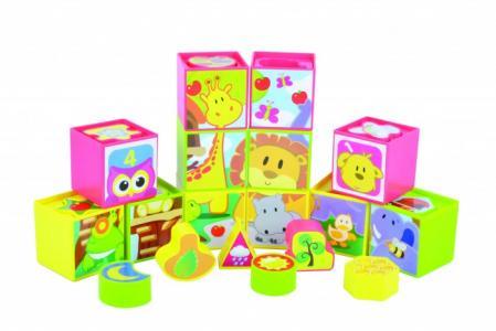 Развивающая игрушка  Набор кубиков 12 штук Red Box