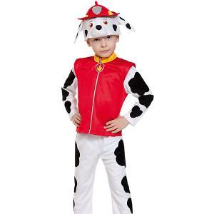 Карнавальный костюм  Щенячий патруль. Маршалл Карнавалофф. Цвет: разноцветный