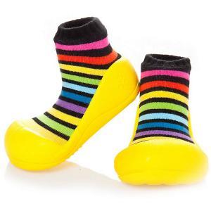 Тапочки  RainBow Attipas. Цвет: желтый