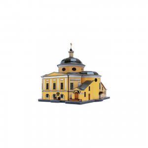Сборная модель Покровский Храм Ставропигиального женского монастыря (Матрона Московская) Умная Бумага