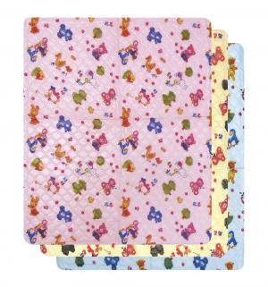 Подстилка  Непромокаемая для девочек, 1 шт, цвет: розовый Сказка
