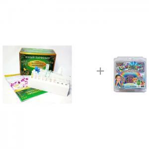 Набор Юный Парфюмер. Цветочные ароматы и контейнеры для резиночек Бустер Кит Rainbow Loom Каррас
