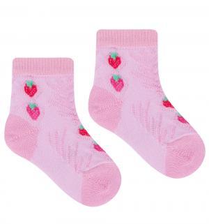 Носки Teen Line, цвет: розовый Гамма
