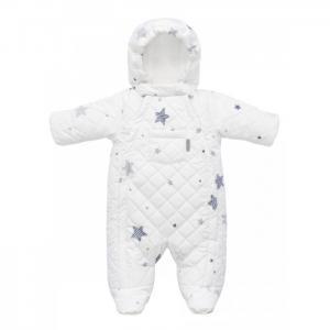 Комбинезон детский зимний с закрытыми ножками Tiny Звезды Mansita