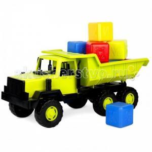 Самосвал Таежный с набором кубиков (13 деталей) Росигрушка