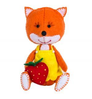 Набор для изготовления игрушки  Лисичка Перловка
