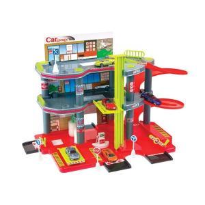 Игровой набор  Парковка с машиной MochToys