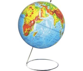 Глобус физический 25 см на металлической подставке Rotondo