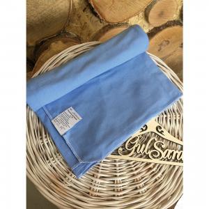 Пеленка трикотажная, 90*120, голубой GulSara