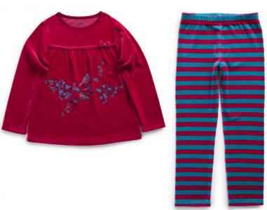Пижама La Compagnie des Petits. Цвет: розовый