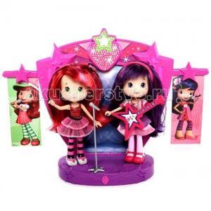 Шарлотта Земляничка Две куклы 15 см на сцене Strawberry Shortcake