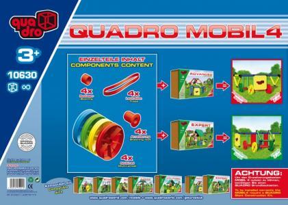 Конструктор крупногабаритный Mobile 4 19 элементов Quadro