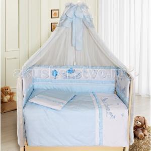 Комплект в кроватку  Веселая семейка (7 предметов) Bombus