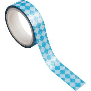 Декоративная самоклеющаяся лента  Синие ромбы Феникс-Презент