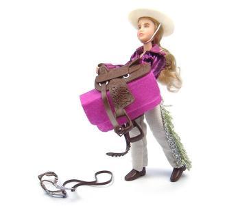 Набор Кукла Кейтлин с аксессуарами в стиле Вестерн Breyer