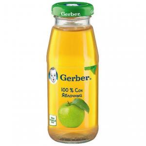 Сок  яблоко, 175 мл Gerber