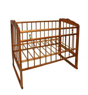 Кровать-качалка  Женечка-3, цвет: орех ИП Смирнов
