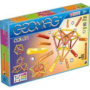 Магнитный конструктор  Color, 64 детали Geomag. Цвет: синий