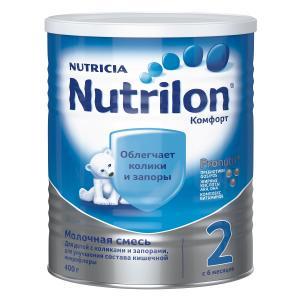 Молочная смесь  Комфорт 2 6-12 месяцев, 400 г Nutrilon