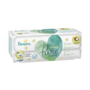 Салфетки  «Pure Coconut» влажные детские, 84 шт Pampers