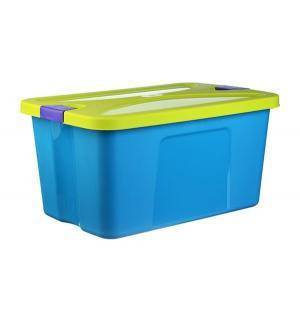 Ящик для игрушек  Секрет, цвет: бирюзовый Idea