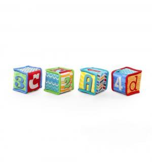 Мягкие кубики  4 штуки Bright Starts