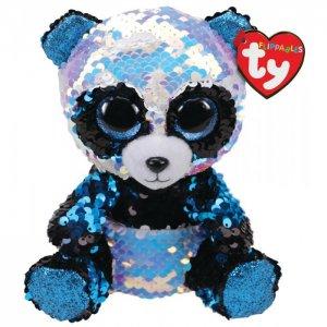 Мягкая игрушка  Бамбу панда с пайетками 25 см TY