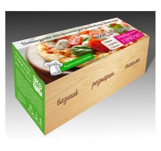 Набор для выращивания  Гурмэ Set Микс пиццы Экокуб