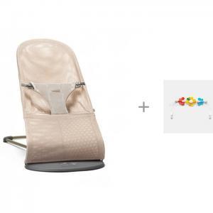 Кресло-шезлонг Bliss Mesh и Игрушка для кресла шезлонга Летающие друзья BabyBjorn