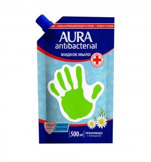 Мыло жидкое  антибактериальное Ромашка, 500 мл Aura