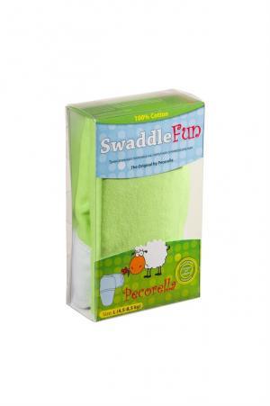 Пеленка SwaddleFun M, цвет: салатовый Pecorella