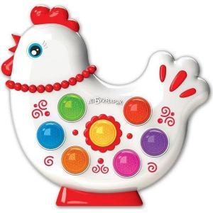 Интерактивная игрушка  Курочка Веселушки Азбукварик