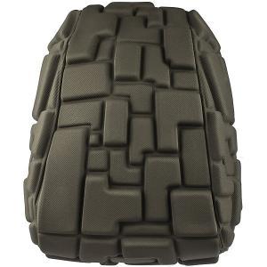 Рюкзак  Blok Half Going Green, 36х15х30 см MadPax. Цвет: хаки