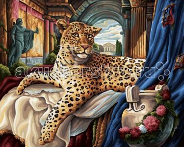 Картина по номерам Римский леопард 40х50 см Schipper