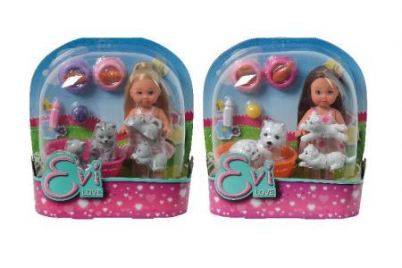 Кукла Еви с домашними животными EVI