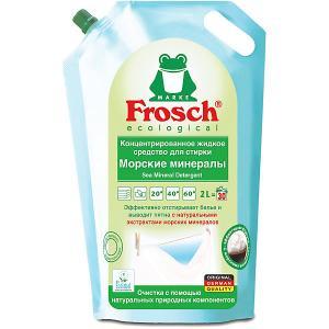 Жидкое средство для стирки  Морские минералы, 2 л Frosch