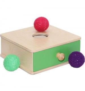 Коробочка  развививающая с мячиком Paremo
