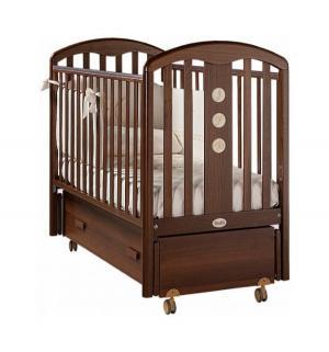 Кровать  Elegance Swing, цвет: noce/walnut Feretti