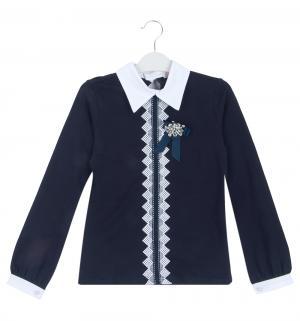 Блузка , цвет: синий Colabear