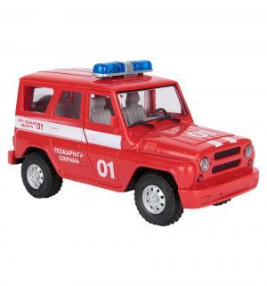 Машинка  Технопарк УАЗ Hunter Пожарная охрана 23 см JOY TOY