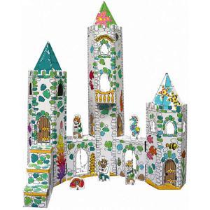 Сборная раскраска  Замок Русалки CartonHouse. Цвет: белый