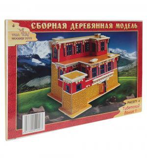 Сборная деревянная модель  Тибетский домик 1 Wooden Toys