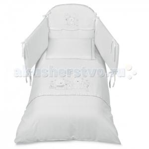 Комплект в кроватку  Happy Family (5 предметов) Italbaby