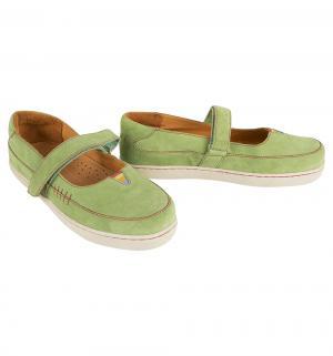 Туфли , цвет: салатовый Mamashoes