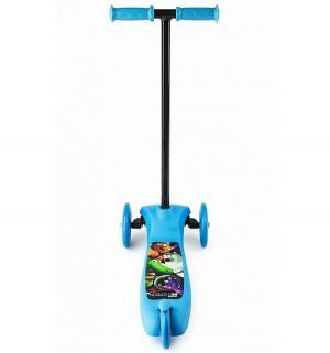 Самокат  Cosmic Zoo Scooter, цвет: синий Small Rider